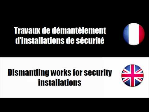 [Learn French words] Travaux de construction