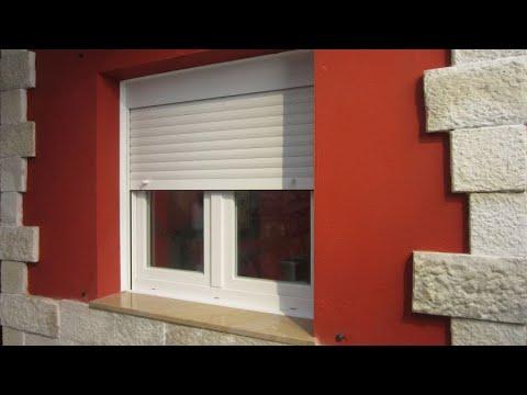 Colocar ventana con persiana bricomania youtube for Ventanas con persianas incorporadas