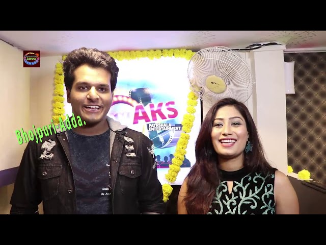 Actress Aakanksha Awasthi AKS Pathshala Entertainment To celebrate The Grand Opening