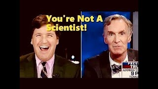 Bill Nye the FAKE Science Guy On Climate Change - Can't Answer Basic