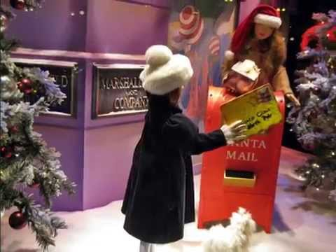 marshall fields christmas windows youtube - Christmas Decoration Stores Chicago