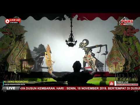 #pwkslive#livestreaming-pagelaran-wayang-kulit-dalang-ki-seno-nugroho-lakon-wisanggeni-duta