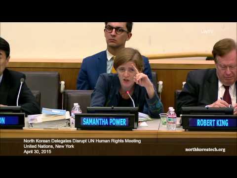 DPRK delegate disrupts UN Human Rights meeting