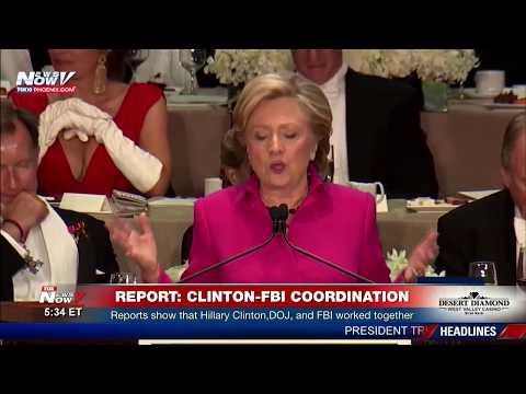 BREAKING: REPORTS: FBI, DOJ Hillary Clinton Worked Together
