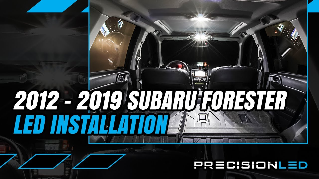 Subaru Forester Led Interior How To Install 4th Gen 2017