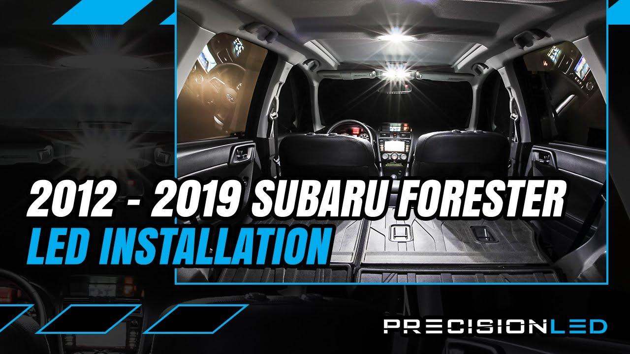 medium resolution of subaru forester led interior how to install 4th gen 2012