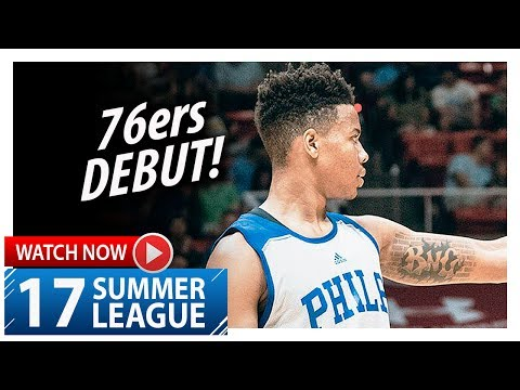 Markelle Fultz Full 76ers Debut Highlights vs Celtics (2017.07.03) Summer League - 17 Pts, 3 Blks