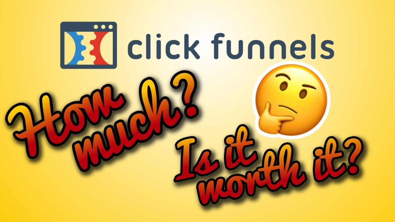 Clickfunnels Pricing Plans 2018 - Is Clickfunnels Worth It?