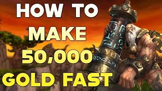 World Of Warcraft Gold Farm How To Make 50,000 Gold Fast