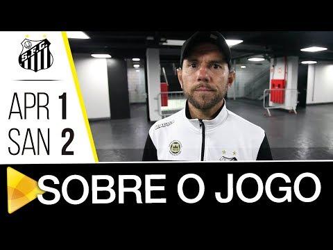 Atlético-PR 1 x 2 Santos | SOBRE O JOGO | Brasileiro de Aspirantes (24/10/17)