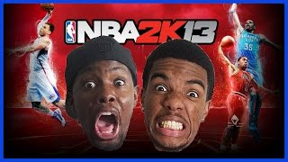 HAHA! SOMEONE ISN'T HAVING FUN!! -  #ThrowbackThursday | NBA 2K13 Gameplay
