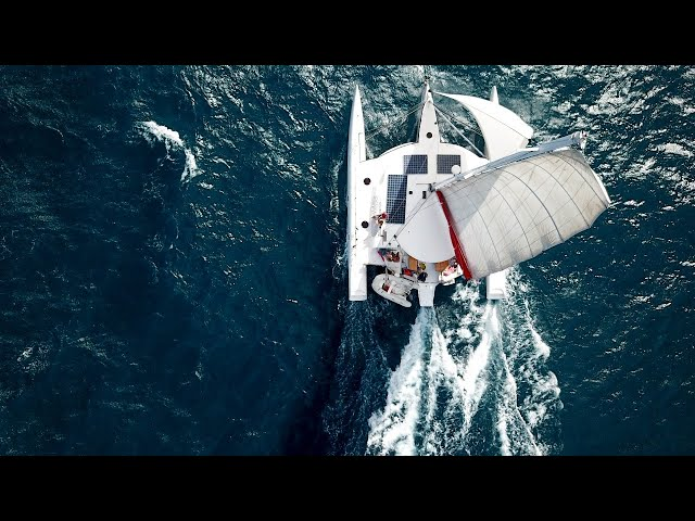 5000 mile across the Atlantic on a trimaran - how are we getting ready - LIVE
