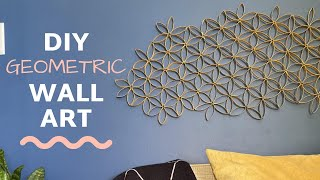 You Won't Believe What This DIY Wall Art Was Made From