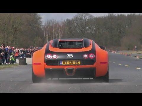 Bugatti Veyron 16.4 w/ Mansory Exhaust - Brutal Accelerations!