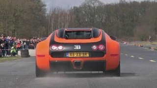 Bugatti Veyron 16.4 w/ Mansory Exhaust - Brutal Accelerations!