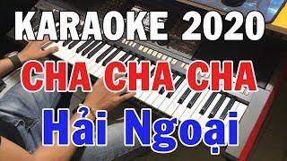 Karaoke Liên Khúc Cha Cha Cha Hải Ngoại 2020 | Nhạc Sống Karaoke Lại Nhớ Người Yêu | Trọng Hiếu