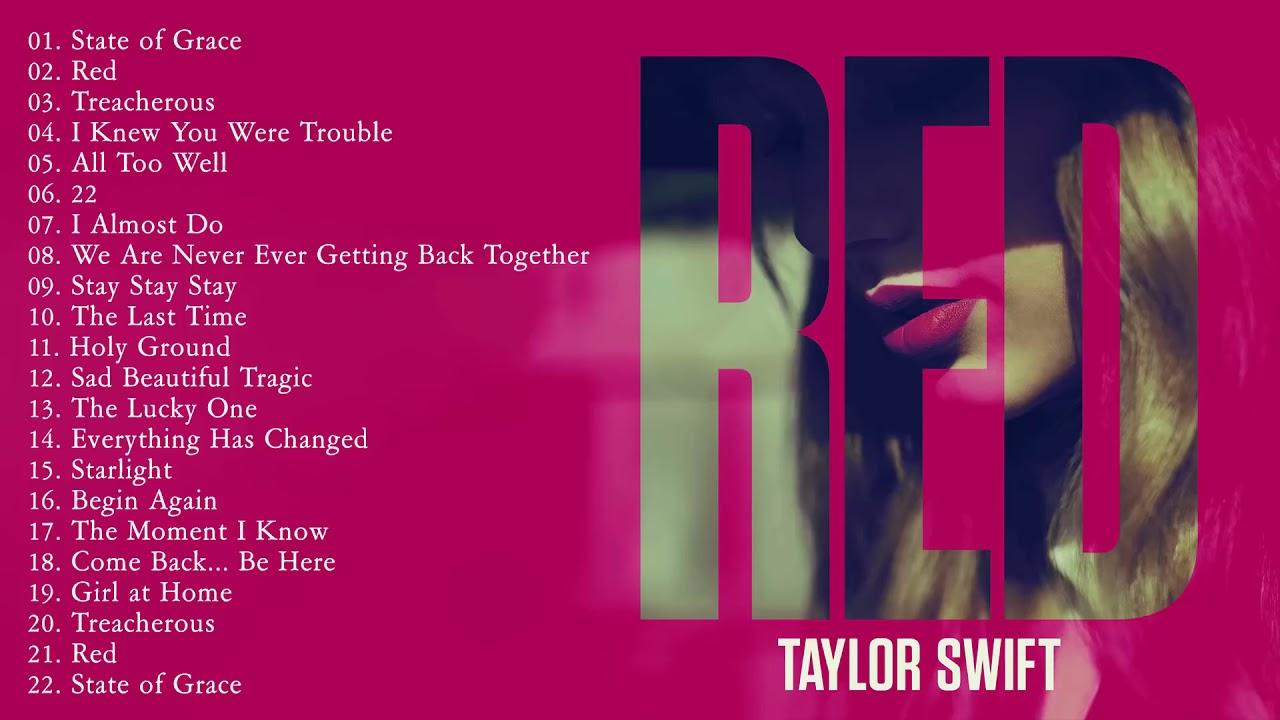 Download R.e.d.  Full Album  -  TAYLORSWIFT