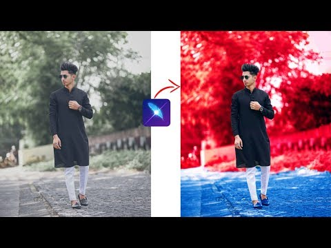 New LightX App Tutorial | Amazing Red Tone Effect | LightX Photo Editor Retouch Photo Editing