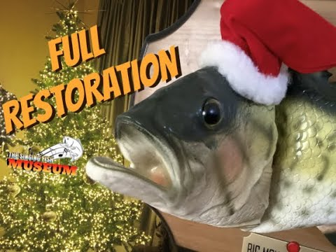 Gemmy 1999 Christmas Big Mouth Billy Bass (FULL RESTORATION)