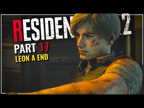Leon A Ending - Let's Play Resident Evil 2 Remake Blind Part 17 [PC Gameplay]