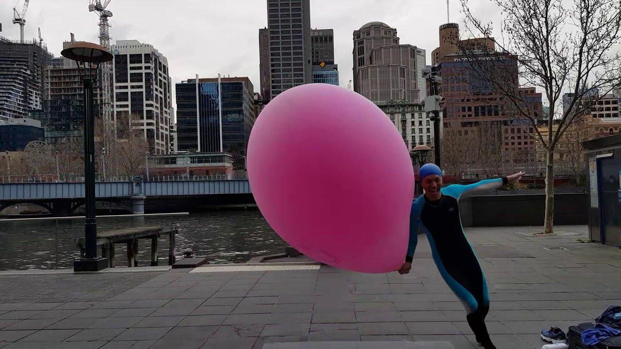 #SAFEWORDCOLONOSCOPY: Mr. Balloon Man - YouTube