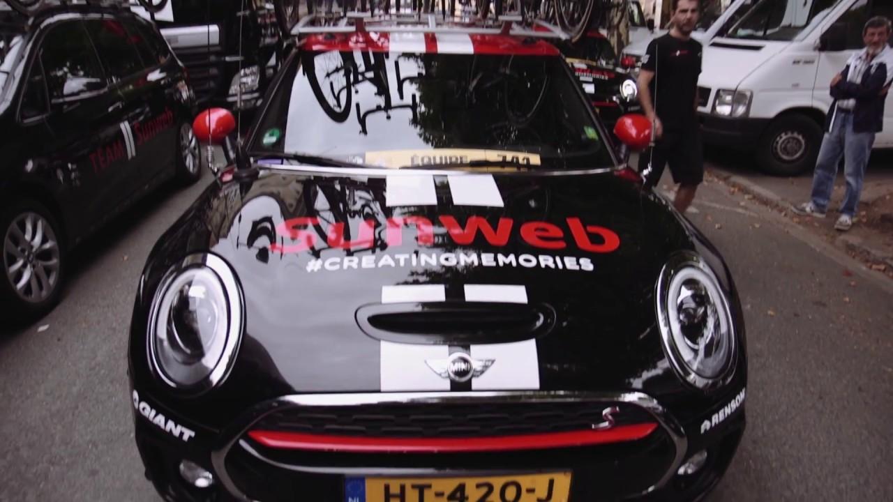 A tour around Team Sunweb\'s MINI Clubman race car - YouTube