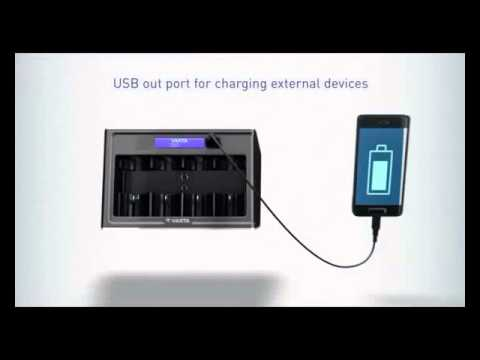 Varta Lcd Universal Charger Chargeur De Piles Universel