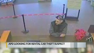Police search for rental car thief
