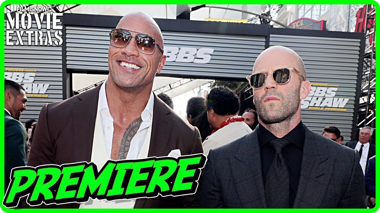 HOBBS & SHAW | Hollywood World Premiere - Interviews