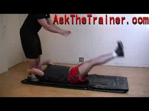 Leg Throws – Best Lower Ab Workout – Abdominals Exercise