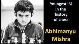 The boy who just broke Praggnanandhaa's youngest IM record - Abhimanyu Mishra