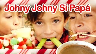 Johny Johny Sí Papá Versión Navideña (Johny Johny Yes Papa)