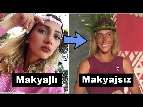 Survivor 2019 Yarışmacılarının Makyajlı Ve Makyajsız Halleri!