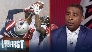 Cris Carter explains why Julio Jones is the best wide receiver in the NFL | FIRST THINGS FIRST