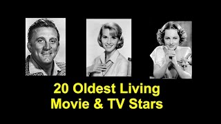 20 Oldest Living Movie and TV Stars from Jerry Lewis to Olivia de Havilland