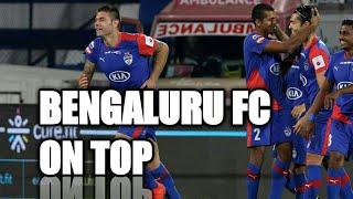 Bengaluru FC Vs FC GOA MATCH REVIEWS   BFC on top after beating FC GOA