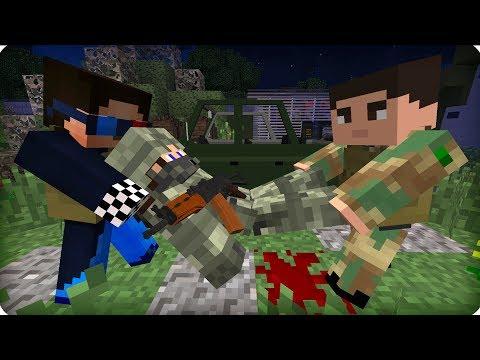 Рядовой в опасности! [ЧАСТЬ 10] Зомби апокалипсис в майнкрафт! - (Minecraft - Сериал)