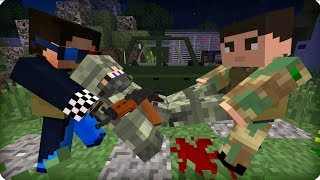 видео: Рядовой в опасности! [ЧАСТЬ 10] Зомби апокалипсис в майнкрафт! - (Minecraft - Сериал)