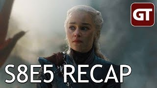 Thumbnail für Game of Thrones S8E5 Recap: Ich werd' bekloppt - GoT Talk German / Deutsch