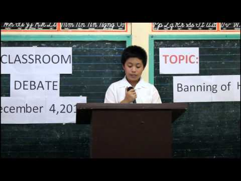 GURO 21 Classroom Debate