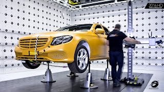 2017 Mercedes E-Class Crash Test - Better than 5 Stars ★★★★★