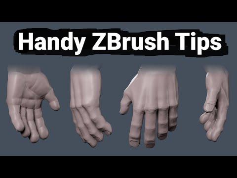 Handy ZBrush Tips