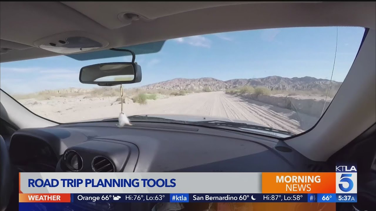 Road trip planning tools