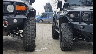 Toyota FJ Cruiser, wheels 39.5 VS wheels 33, колеса 39,5 против колес 33 off road, 4x4, FJ Cruiser