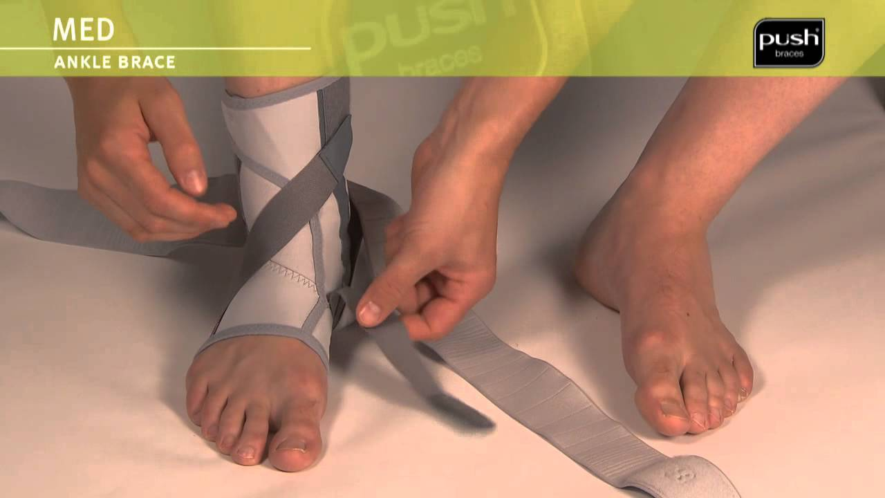 Push Braces | med Ankle Brace