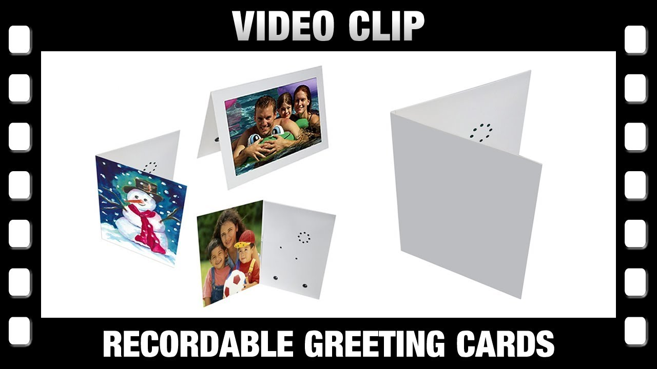 Record A Card Voice Recordable Greeting Cards 2017 Youtube