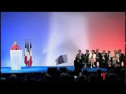 Meeting de Marine et Jean Marie Le Pen à Marseille