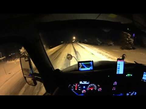 2625 Time to call it quits, winter truck driving