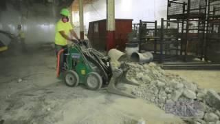Taking down a Mezzanine- Robotic Demolition