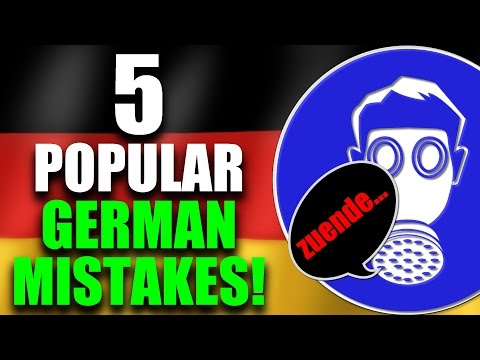 Right Or Wrong? - 5 Popular German Language Mistakes! | GERMAN LESSON | VlogDave